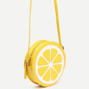 🍋COMING SOON! Lemon slice crossbody  bag